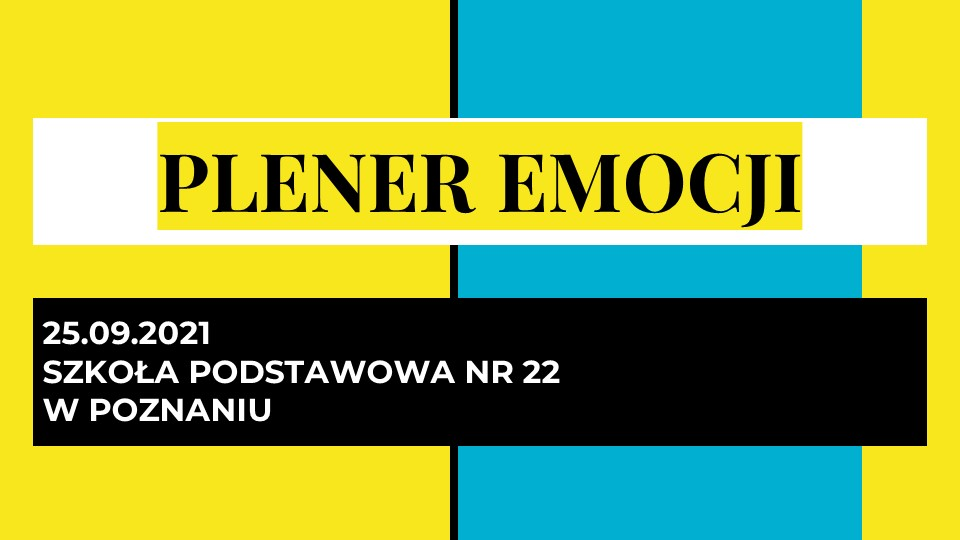 Read more about the article Plener Emocji