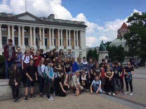 Wizyta uczniów z Kopenhagi maj 2018