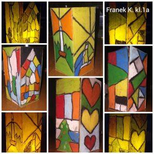Aniołki, lampiony i kalendarze w wykonaniu naszych uczniów