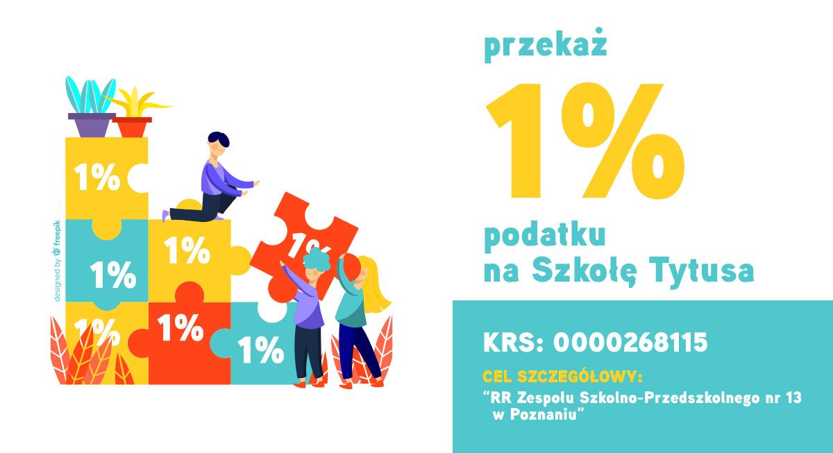 1% PODATKU NA SZKOŁĘ TYTUSA