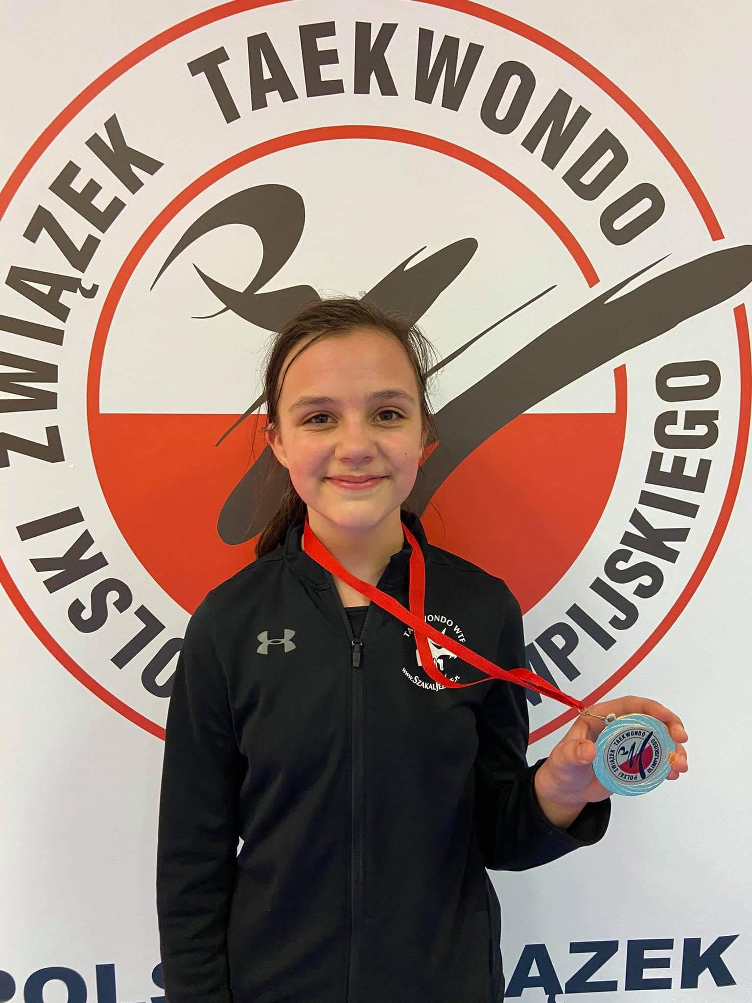 Złoty medal Anastazji Niemyskiej na Pucharze Polski