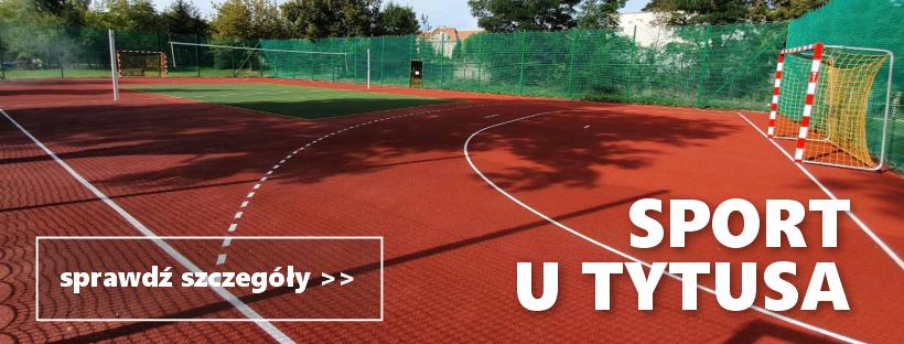 sport u Tytusa - baner